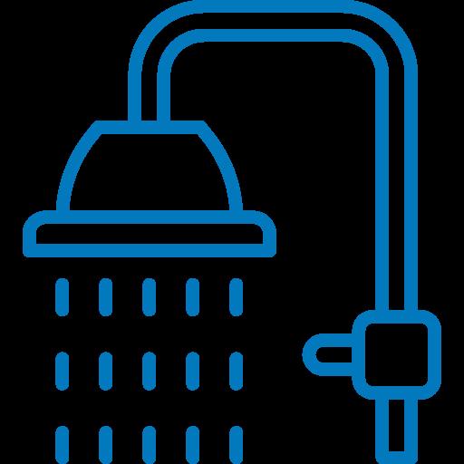 Pictogramme représentant une douche